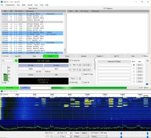 微弱信号デジタル通信ソフト「WSJT-X」